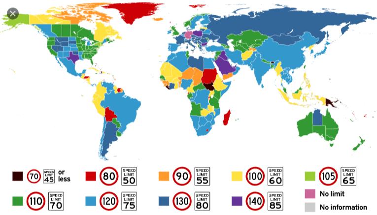 колко е ограничението на магистралата